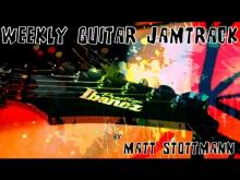 Embedded thumbnail for Joe Bonamassa Style Modern Blues Backing Track In A