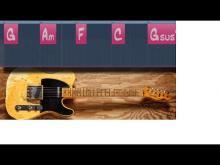 Embedded thumbnail for A minor Super Emotional Sad Guitar Backing Track (Am / C major)