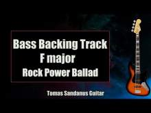 Embedded thumbnail for Bass Backing Track F major - Epic Sad Rock Power Ballad - NO BASS