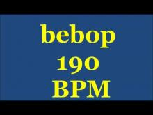 Embedded thumbnail for Drum Loops for Practice Bebop 190bpm