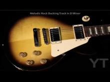 Embedded thumbnail for Melodic Rock Backing Track B Minor
