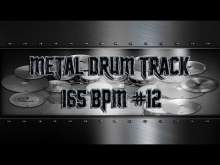 Embedded thumbnail for Aggressive Metal Drum Track 165 BPM | Preset 3.0 (HQ,HD)