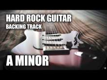 Embedded thumbnail for Hard Rock Guitar Backing Track In A Minor