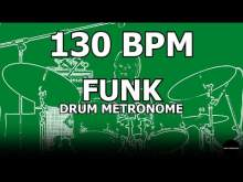 Embedded thumbnail for Funk | Drum Metronome Loop | 130 BPM