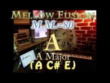 Embedded thumbnail for A Major (A C# E) Mellow Fusion - M.M.=80 - One Chord Vamp