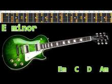 Embedded thumbnail for Classic Rock Guitar Backing Track - E minor | 120bpm