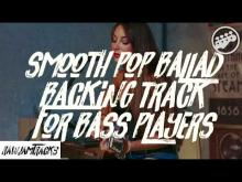 Embedded thumbnail for Smooth pop ballad backing track in am - no bass