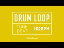 Embedded thumbnail for Funk Drum Loop 102 BPM