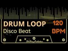 Embedded thumbnail for DISCO BEAT - DRUM LOOP 120 BPM (Backing Track Bateria)