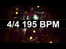 Embedded thumbnail for Drums Metronome 195 BPM