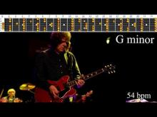 Embedded thumbnail for Soulful Seductive Gary Moore Style Blues Ballad Backing Track - G Minor | 54 bpm