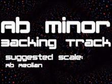 Embedded thumbnail for Ab Minor Backing Track: Electro-Pop, Modern Dance, Bleep Bloop