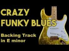 Embedded thumbnail for Crazy Funky Blues Backing Track in Em #SZBT 7