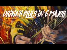 Embedded thumbnail for Driving Blues Backing Track - g major