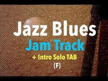 Embedded thumbnail for F Jazz Blues Backing Track (+ Intro TAB)