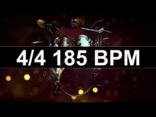 Embedded thumbnail for Drums Metronome 185 BPM