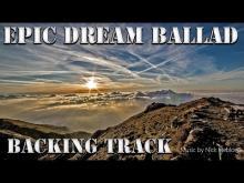 Embedded thumbnail for Epic Sad Guitar Ballad Backing Track E minor