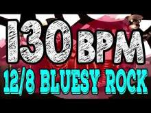 Embedded thumbnail for 130 BPM - Blues Rock Shuffle #1  - 12/8 Drum Track - Metronome - Drum Beat