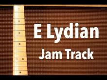 Embedded thumbnail for Satriani Style Backing Track (E Lydian)