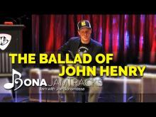 "Embedded thumbnail for Bona Jam Tracks - ""The Ballad of John Henry"" Official Joe Bonamassa Guitar Backing Track in E Minor"