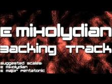 Embedded thumbnail for E Mixolydian Backing Track: Nuno Bettencourt Style, Funk Metal, 110 BPM