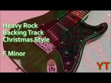 Embedded thumbnail for Heavy Rock Christmas Backing Track F Minor