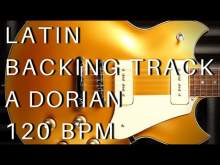 Embedded thumbnail for Latin Guitar Backing Track (Santana Style) | A Dorian (120 bpm)