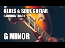 Embedded thumbnail for Blues & Soul Guitar Backing Track In G Minor