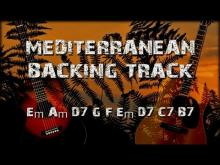 Embedded thumbnail for Mediterranean Sundance Rio Ancho Backing Track for improvisation