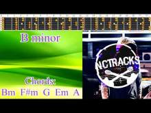 Embedded thumbnail for Epic Melancholic Charming Rock Ballad Guitar Backing Track - B minor   75 bpm