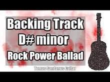 Embedded thumbnail for D# minor Backing Track - D#m - D sharp - Hard Rock Metal Power Ballad Guitar Jam Backtrack Extended