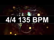Embedded thumbnail for Drums Metronome 135 BPM
