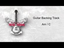 Embedded thumbnail for Slow Guitar Backing Track / Jam Track Am 100 bm