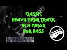 Embedded thumbnail for Classic heavy metal track (no bass)