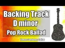 Embedded thumbnail for D minor Backing Track - Dm - Slow Sorrowful Indie Alternative Pop Rock Ballad Guitar Jam Backtrack