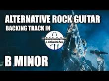 Embedded thumbnail for Alternative Rock Guitar Backing Track In B Major (U2 Style)