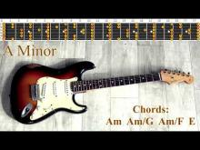 Embedded thumbnail for Emotional Sorrowful Sad Rock Ballad Style Guitar Backing Track - A Minor | 70 bpm