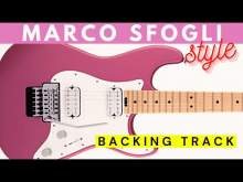 Embedded thumbnail for MARCO SFOGLI Modern Rock Guitar Backing Track Jam in E major