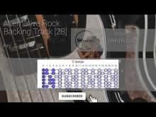 Embedded thumbnail for Alternative Rock Guitar Backing Track Jam in C [28]