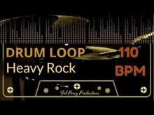 Embedded thumbnail for Heavy Rock - Free Drum Loop 110 BPM (Backing Track Bateria)