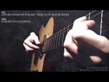 Embedded thumbnail for Classical Guitar Fingerpicking Arpeggio Tutorial Backing Track G Major Jam