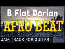 Embedded thumbnail for Afro Beat Inspired Backing Track for Guitar in B flat (Bb) Dorian