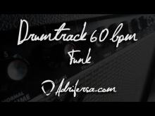 Embedded thumbnail for Funk beat drum track - 60bpm