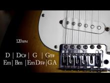 Embedded thumbnail for Straight Rock Guitar Backing Track D Major Jam