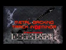 Embedded thumbnail for Nice Metal Backing in D# minor ( Eb minor )