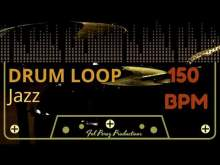 Embedded thumbnail for Jazz - Free Drum Loop 150 BPM (Backing Track Bateria)