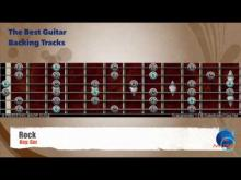 Embedded thumbnail for Rock in Gm Guitar Backing Track with scale map