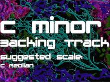 Embedded thumbnail for C Minor Backing Track: Slow, Moody, Cascading