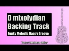 Embedded thumbnail for Funk Melodic Happy Groove Guitar Backing Track Jam in D Mixolydian