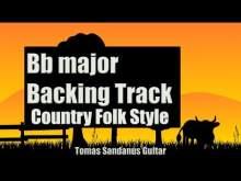 Embedded thumbnail for Bb major Backing Track - Country Folk Guitar Jam Backtrack